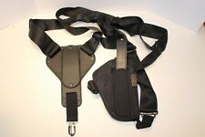 Uncle Mike/'s Cross-Harness Horizontal Shoulder Holster  Large Frame Auto 8715-0
