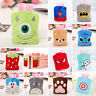 Small Warm Hot Cold Water Bag With Cover Bottle Home Office Portable Plush Gift