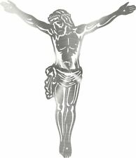 DXF CNC dxf for Plasma Christ Cruc 2 Part Cave Wall Art Home Decor Christian