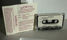 LAGRO UNITED METHODIST CHURCH cassette tape 1995 gospel Worthy Indiana