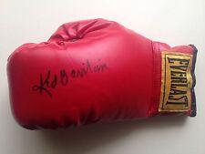 Boxing Kid Gavilán Signed Everlast Boxing Glove