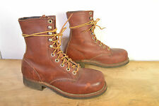 Vintage Red Wing Brown Leather Hiking/Work Boots Mens 5 Wide