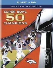 NFL Super Bowl 50 Champions Denver Broncos Blu-ray