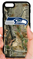 SEATTLE SEAHAWKS CAMO PHONE CASE FOR iPHONE XS MAX XR X 8 7 6S 6 PLUS 5S 5C 4S