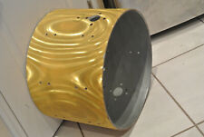 """60s/70s Gretsch 20"""" Yellow Satin Flame Bass Drum Shell for Your Drum Set! #E173"""
