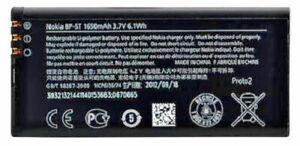 OEM Nokia BP-5T BATTERY FOR NOKIA Lumia 820 and 825 1650mAh