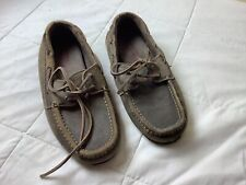 Men's American Eagle Size 7 House Shoes Brown Slippers