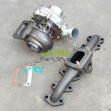 Manifold +T4 Turbo AR 0.96 For Lexus IS300 2JZ-GTE /Toyota Supra JZA80 800+ HP