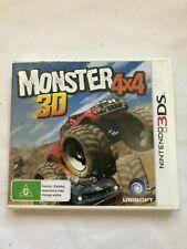 Monster 4x4 3D - Nintendo 3DS Game