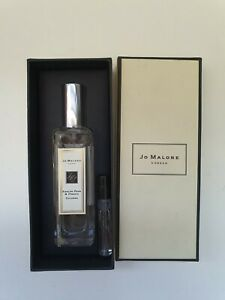 Brand New Jo Malone - English Pear and Freesia Cologne - 30ml plus small sample