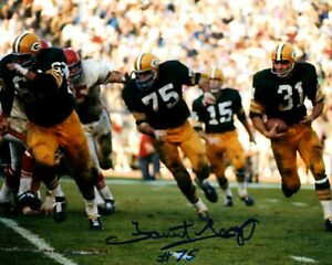 Packers FORREST GREGG (d) Signed 8x10 Photo #2 AUTO - HOF '77 - SB I&II Champ