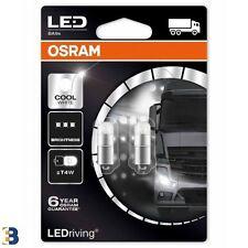 ! nuevo! Osram T4W LEDriving Cool Blanco 249 24V 1W BA9s 3924CW-02B 6000K Bombillas Set