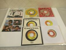 "Beatles Mexico 7"" Records 45 RPM Dizzy Miss Lizzy Paperback Writer Capitol"