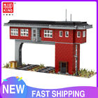 Railway Signal Tower Set Train Station MOC Model Blocks Bricks Kid Toy MK 12009