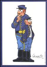 Ex-libris Offset Tuniques Bleues (Les) Blutch et Chesterfield
