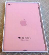 "Genuine Apple Silicone Case 7.9"" for iPad Mini 4 PINK  (back Cover)"
