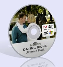 Dating Niche Ultimate Pack - Audio MP3, Videos, Expert Guides and More! DVD