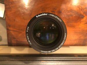 """Schneider-Kreuznach Vario-Cinelux AV MC 85-210mm (3.35""""-8.27"""") F 3.9 lens MINT!!"""