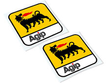 AGIP Classic Retro Car Motorcycle Decals Stickers