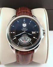 2013 Tag Heuer Grand Carrera Calibre 6 Mens Watch Automatic in Exc Cond. WAV511C