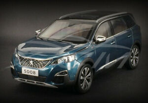 NEW 1/18 Peugeot 5008 Diecast Metal Car Model Gift Collection Ornaments