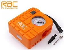 RAC Car Motorcycle Motorbike Ultra Compact 12v Tyre Air Compressor Inflator Pump