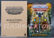2015 MOTU Heads of Eternia Pack MOTUC Masters of the Universe Classics MOC