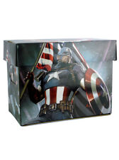 NECA Captain America Comic Book Storage Box Marvel Comics Limited Edition New