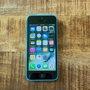 GOOD CONDITION Apple iPhone 5c Blue 32GB (A1532) Verizon CLEAN IMEI #44