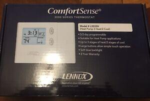 Lennox 51M37 * ComfortSense 3000 Series * Programmable Heat Pump * Model L3532H