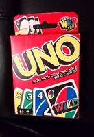 UNO CARD GAME NEW & SEALED CUSTOMIZABLE WILD CARDS STOCKING FILLER CHRISTMAS FUN