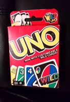 UNO CARD GAME NEW & SEALED CUSTOMIZABLE WILD CARDS EDUCATIONAL FUN FAMILY TIME