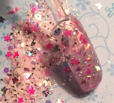 glitter mix acrylic gel nail art   crafts FLUTTER BY  Limited Edition
