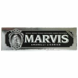 Marvis Amarelli Licorice Flavour Luxury Italian Toothpaste 85ml BNIB UK STOCKIST