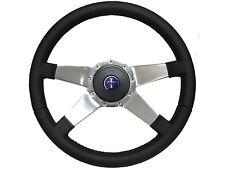 1984 - 2004 Ford Mustang Steering Wheel Kit 9 Bolt Solid 4 Spoke, Pony Emblem