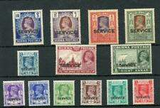 Burma 1939 Official set SGO15/27 MM - cat £250