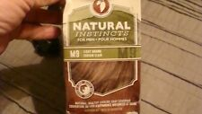 CLAIROL NATURAL INSTINCTS FOR MEN HAIR COLORING 3 PACK