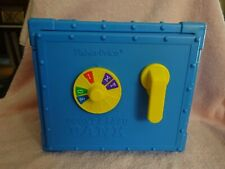 1989 Fisher Price Count and Save Bank Rare!