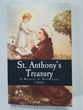 St. Anthony's Treasury Manual of Devotions 1916 ~ Irish Prayers Version Catholic