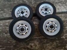 1/18 scale Volkswagen caddy, golf mk1 wheels Modified Tuning , steels, Audi ,dub
