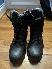 """Bates Men 8"""" Tactical Sport Side Zip Boot 9.5 Extra Wide"""