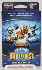 Skylanders Battlecast Battle Pack 2 - 22 Karten mit 3 Charakteren Deutsch Neu