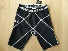 UNDER ARMOUR Tights Compression Fitness Gym Leggings Running Shorts Men's Size M