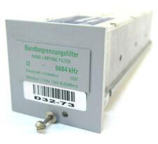 Wandel & Goltermann Band Limiting Filter 12 - 5884 kHz - RSB-12/5884 8583/50