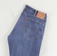 Vintage LEVI'S 505 Regular Straight Fit Men's Blue Jeans W38 L28