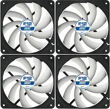 4 x Arctic Cooling F12 PWM PST 120mm Case Fans 1350 RPM (AFACO-120P0-GBA01)