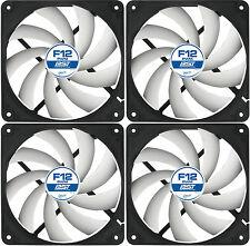 4 x Arctic Cooling F12 PWM PST 120mm Case Fan 1.350 giri / min (AFACO-120P0-GBA01)
