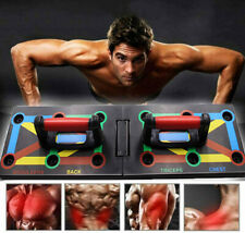 9 in 1 Multifunktionale Push Up Board Liegestützgriffe Training Gym Körperkraft