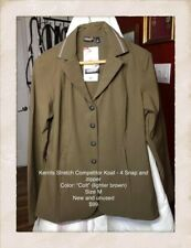 Kerrits Stretch Competitor Koat - 4 Snap Brown (colt) Size M