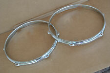 "MAPEX MERIDIAN 12"" TOM HOOPS FOR YOUR TOMS & DRUM SET! LOT #C911"